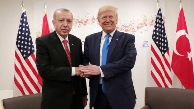 Ердоган і Трамп