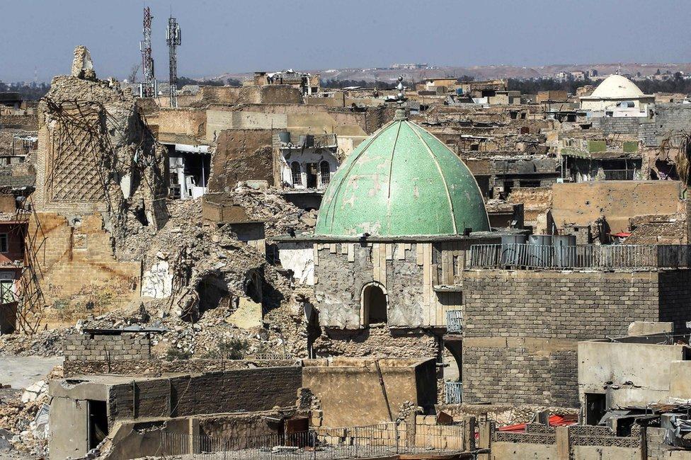 بقايا المسجد النوري (14 March 2018)
