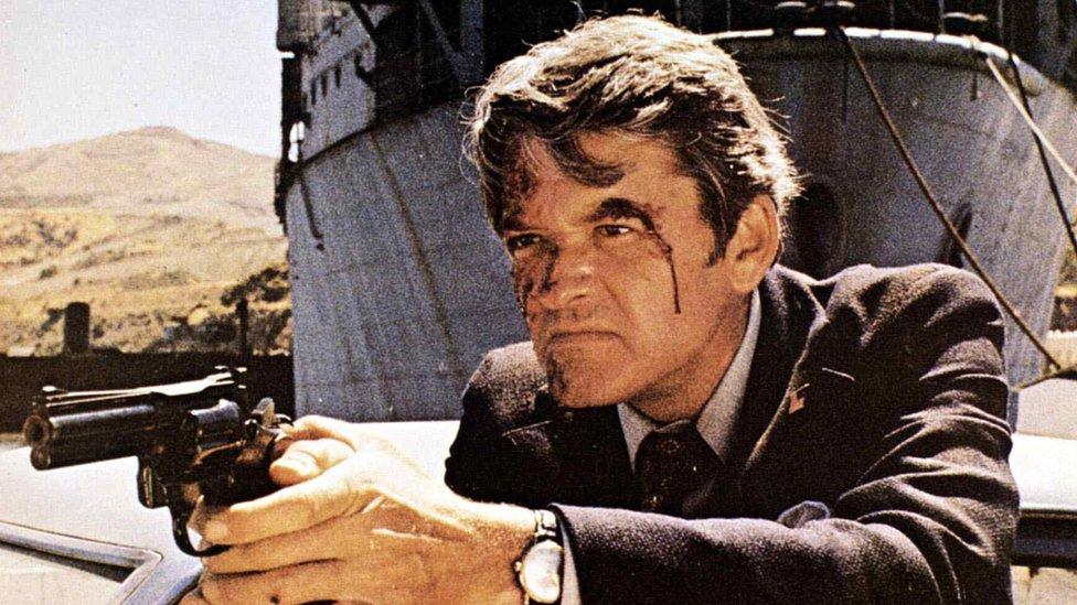 Hal Holbrook in Magnum Force