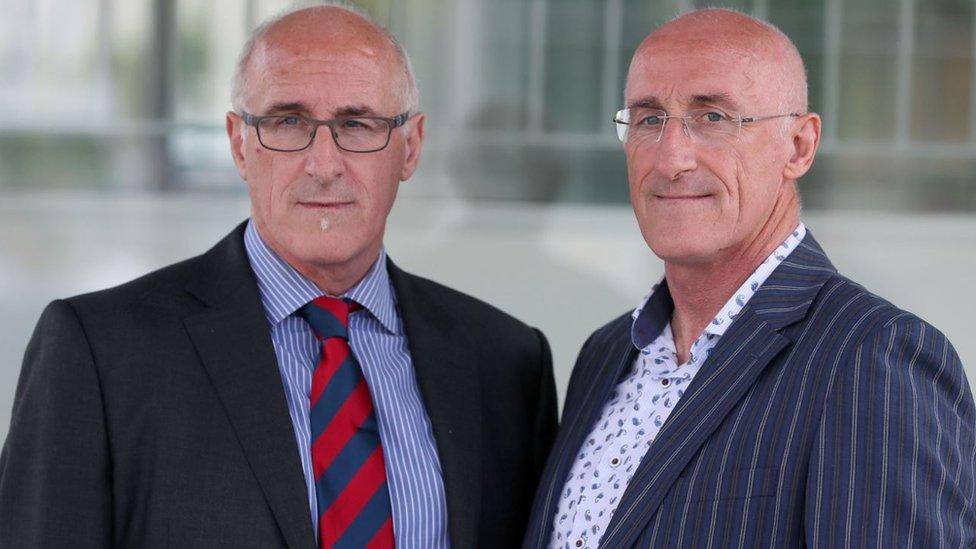 Nigel and Simon Hamilton