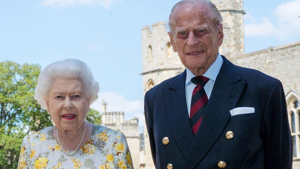 Pangeran Philip, Inggris, Ratu Elizabeth II