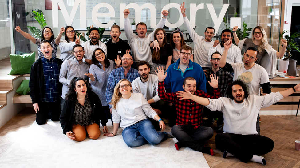 The team at Memory