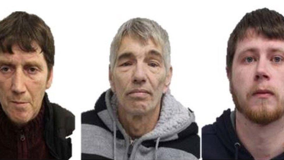 Kevin Tighe, Kenneth Gratton, Craig Furlong