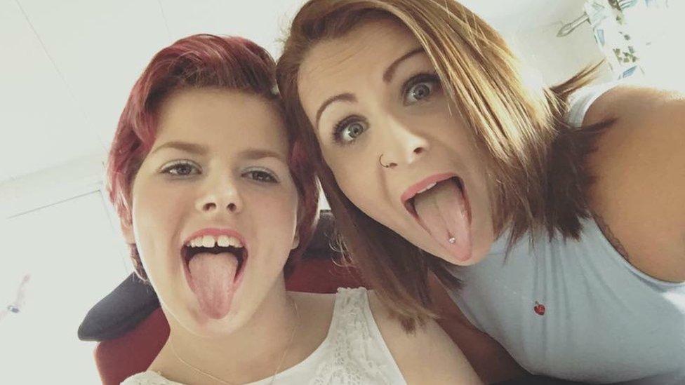 Stevenage carer 'speechless' after trolls mock disabled teen