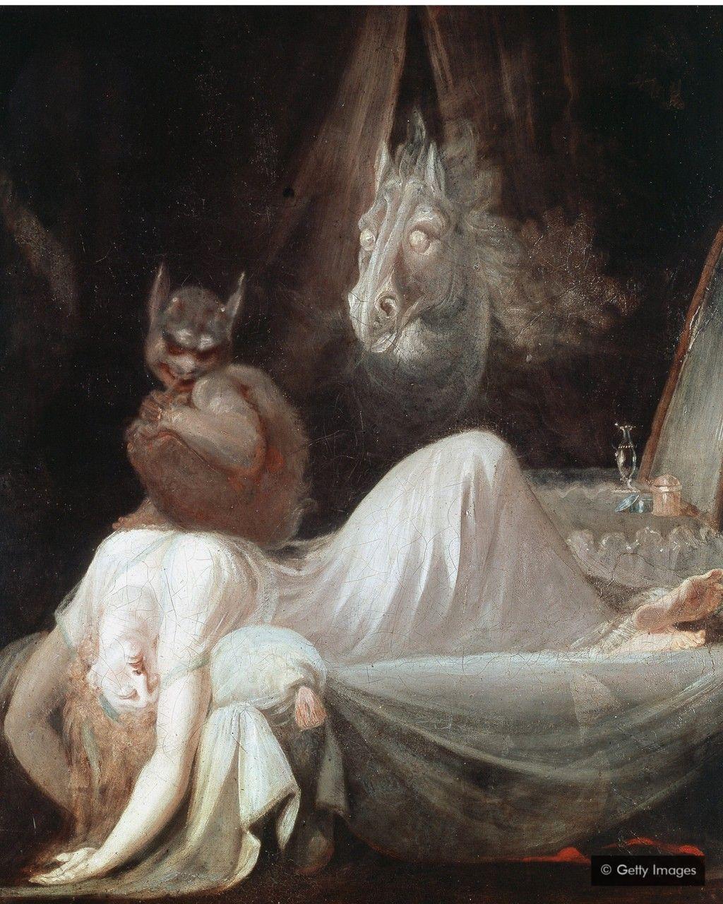 亨利·富塞利的《夢魘》(1781)是對夢最著名的描繪之一,至今仍不為人們所理解。