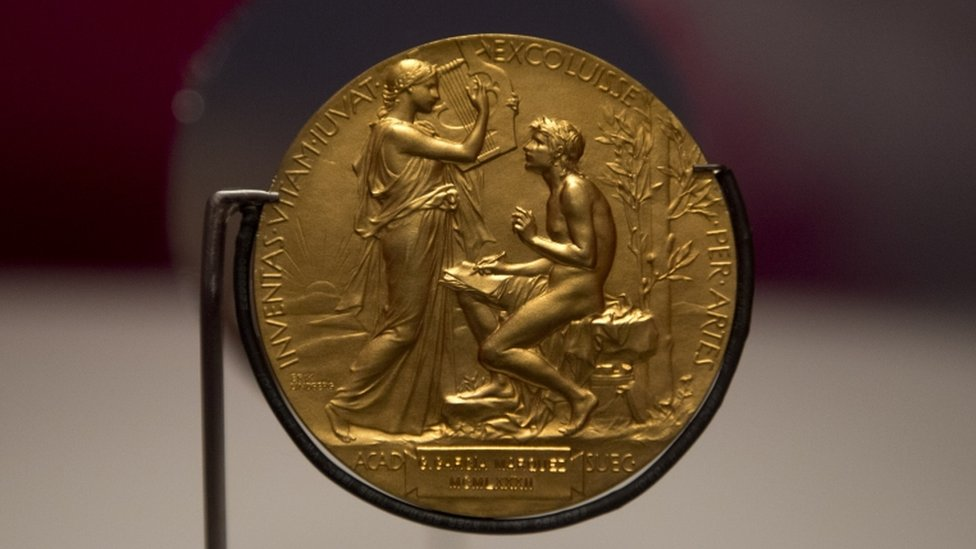 Medalla del Premio Nobel de Literatura