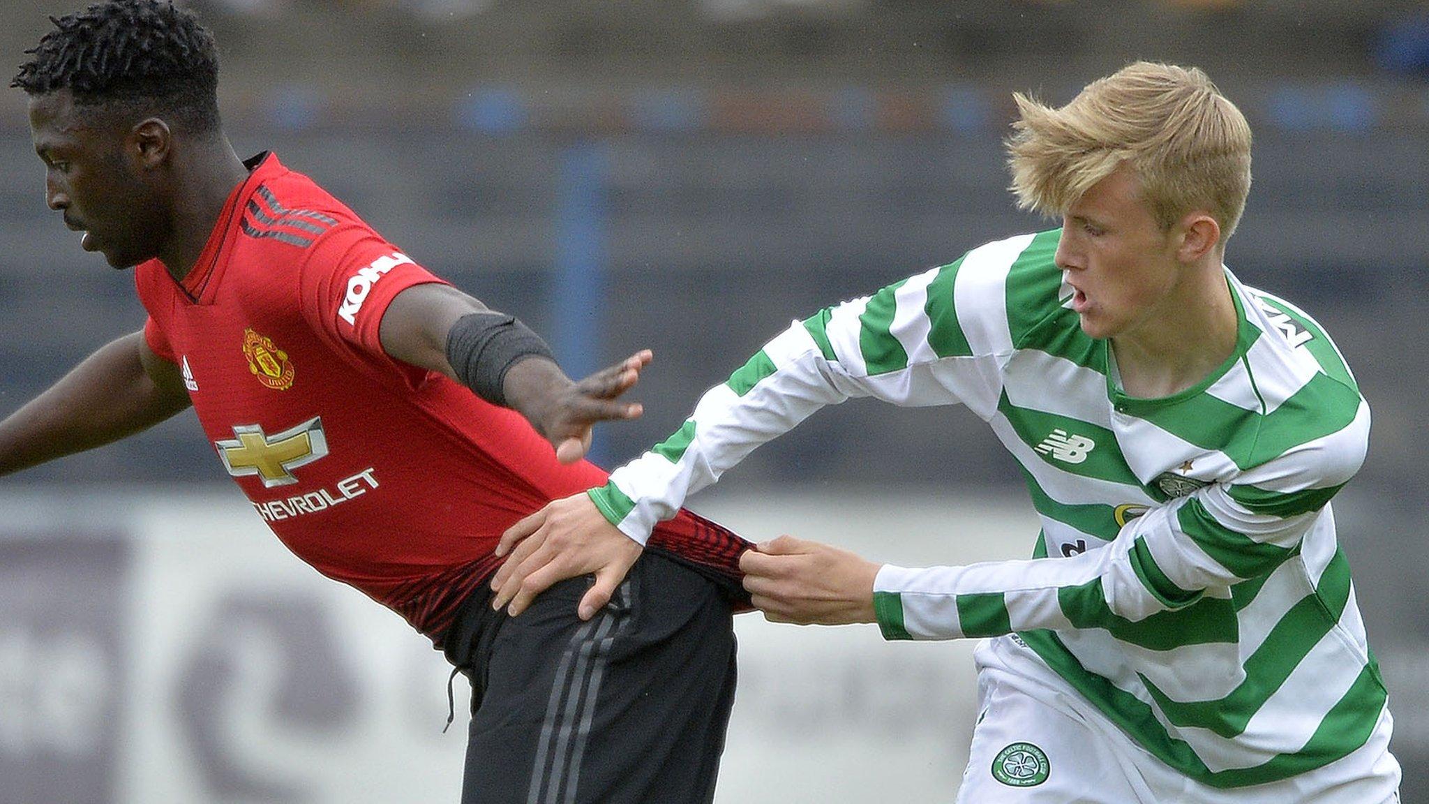 Celtic U19s come back to beat Man Utd