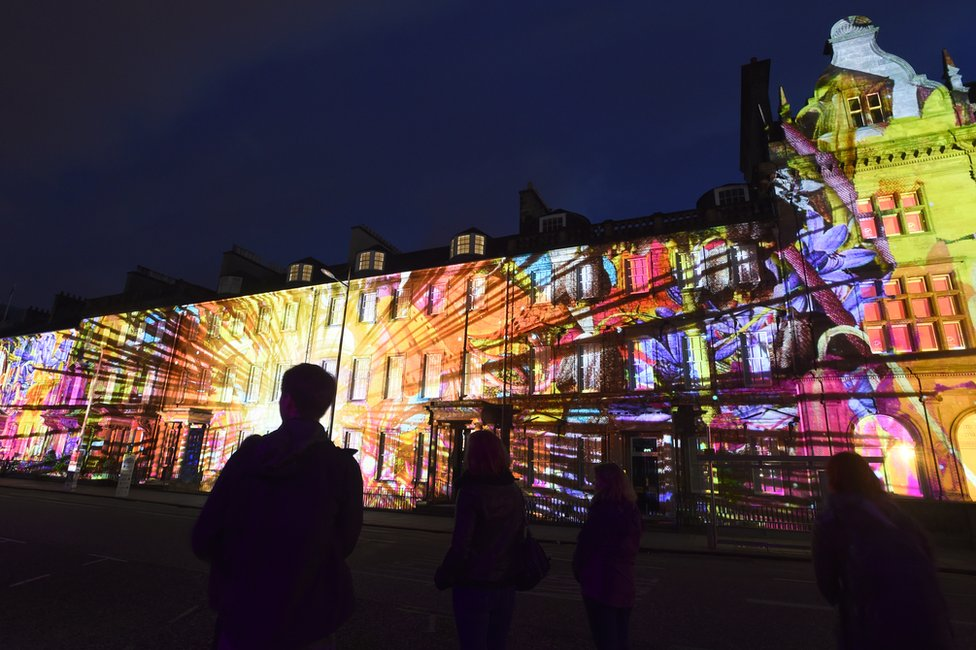 Bloom, a sound and light show, will launch the 2017 Edinburgh International Festival