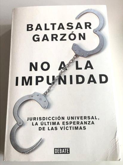 Libro de Baltasar Garzón