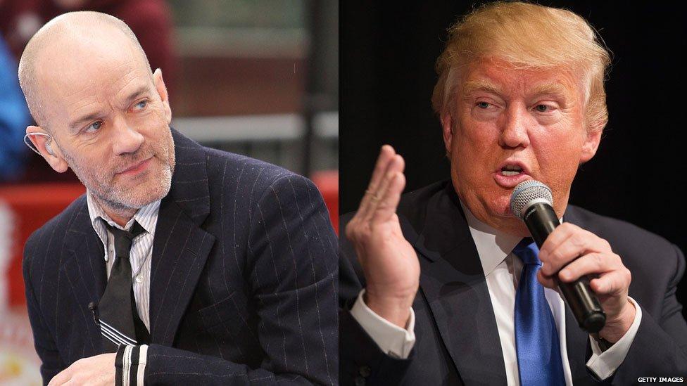 REM vs Donald Trump
