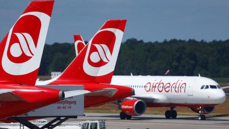 Air Berlín falló en 2017 después de registrar fuertes pérdidas.