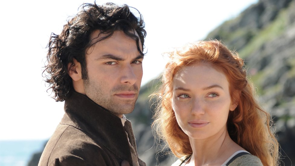 Poldark and Demelza