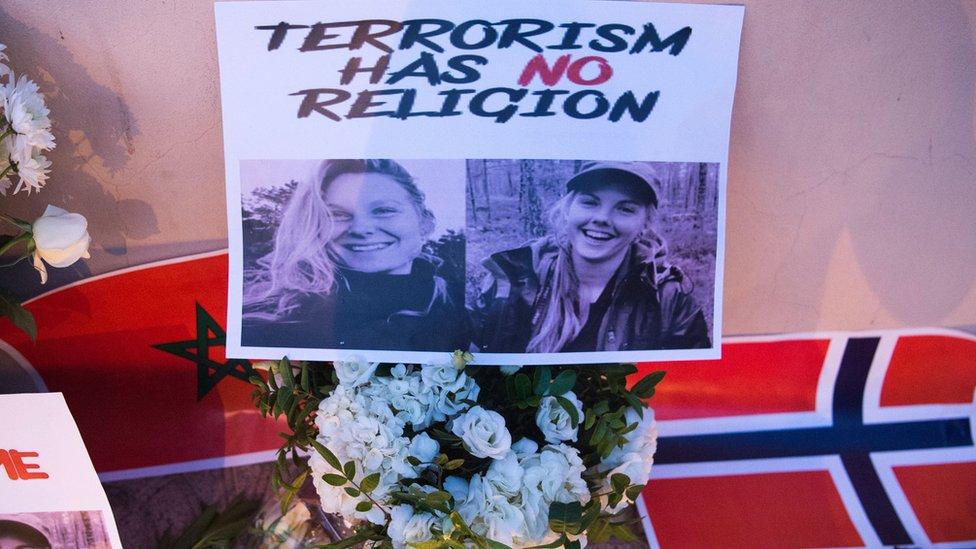 الضحيتان الدنماركية والنرويجية