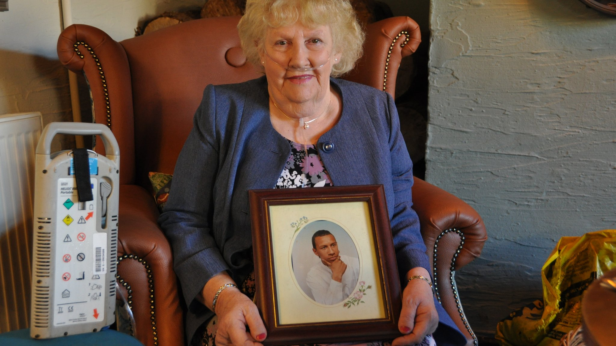 Gwenda Gage from Bristol is Headway's Carer of the Year