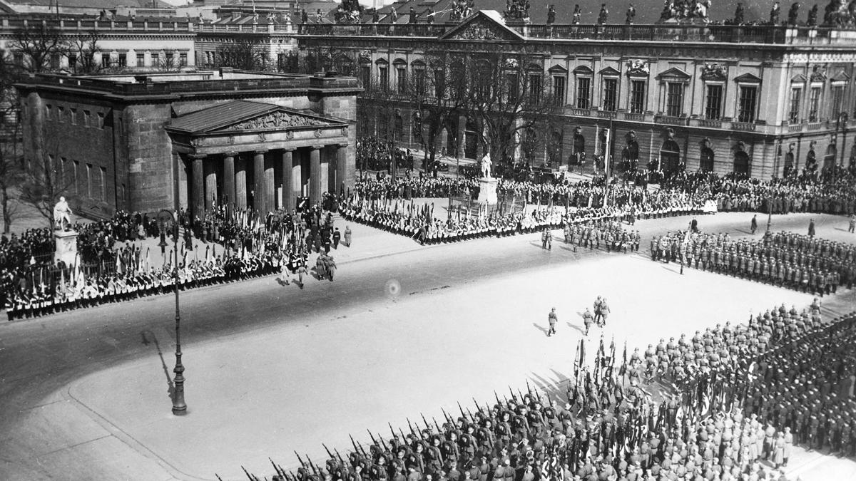 1933年,柏林,人民哀悼日 Volkstrauertag