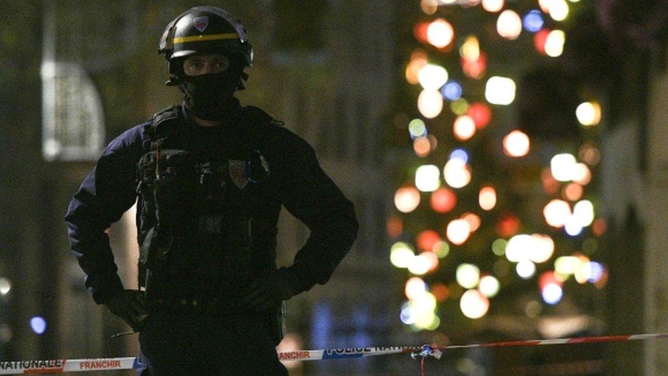 Strasbourg shooting: Gunman at large after three killed and 12 injured