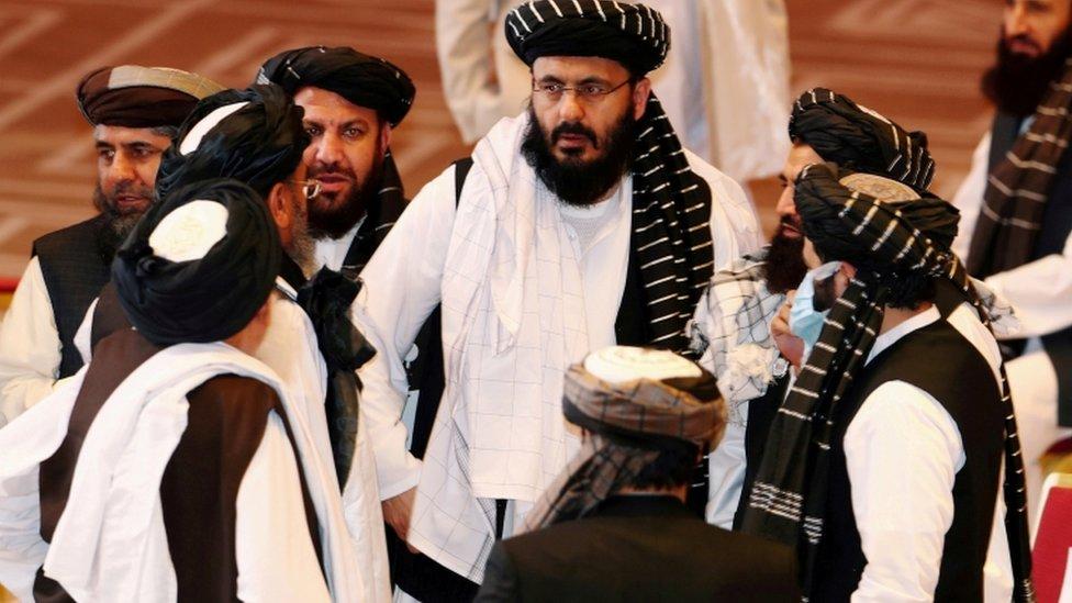 أفراد من حركة طالبان