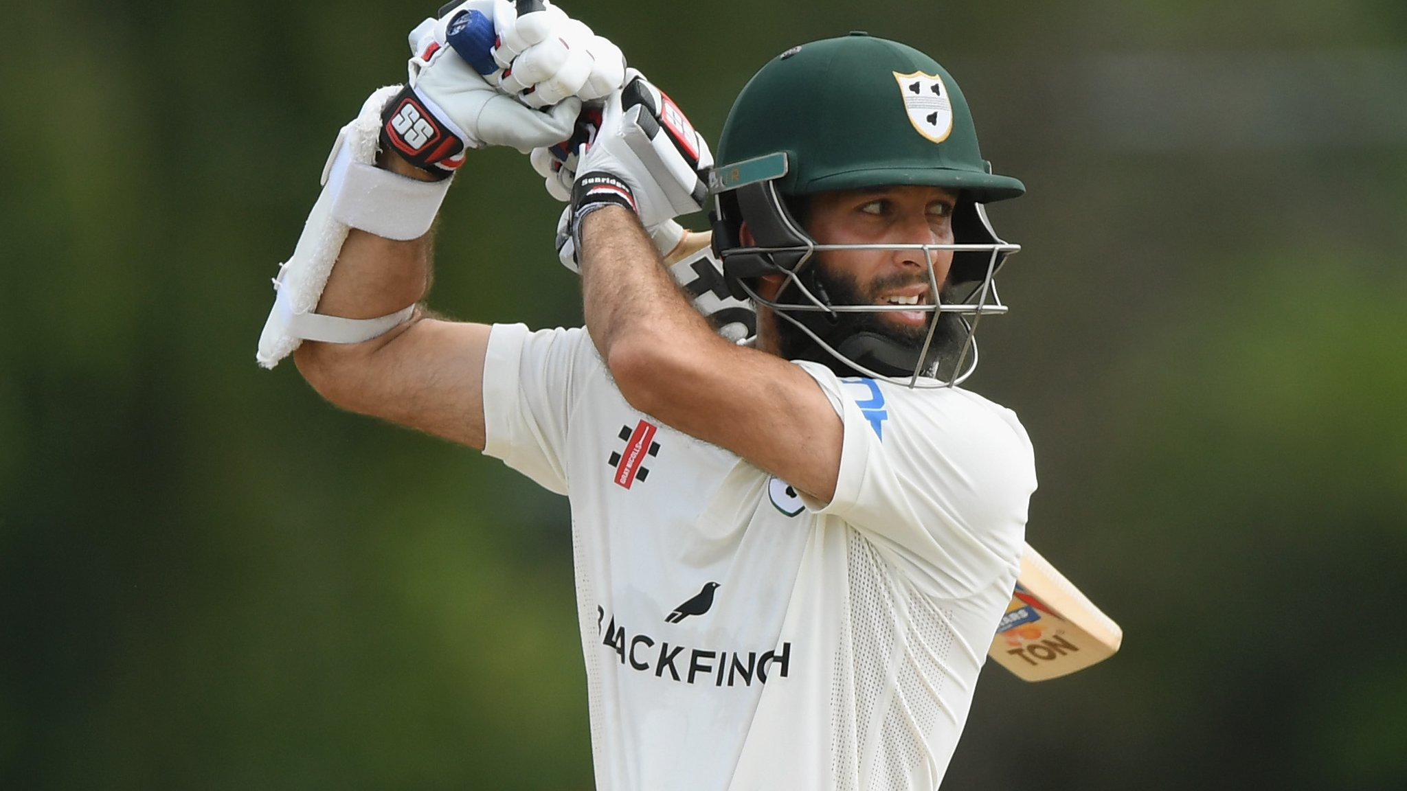 County Championship: Moeen Ali makes 219, then takes 4-35 against Tykes
