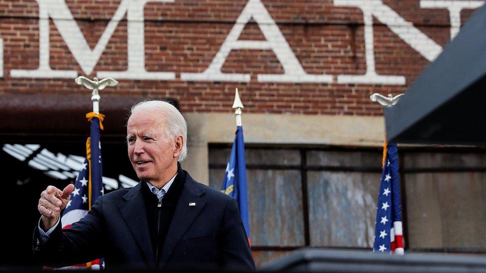 Joe Biden in Atlanta, 15 December