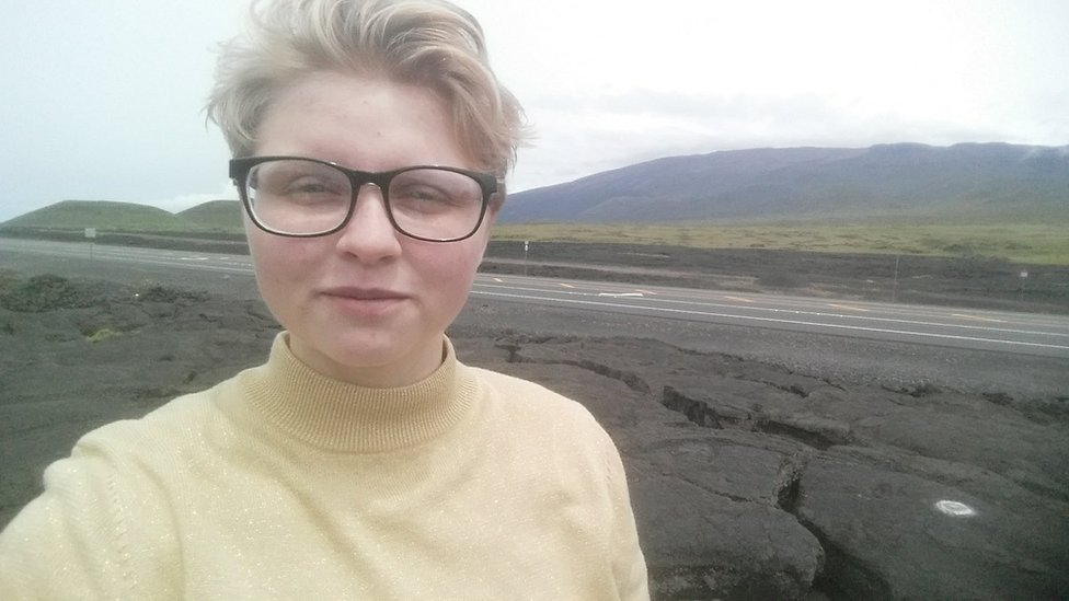 Natalie Myers lives 20 minutes away from the eruption zone
