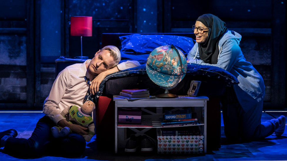 John McCrea and Lucie Shorthouse in Everybody's Talking about Jamie