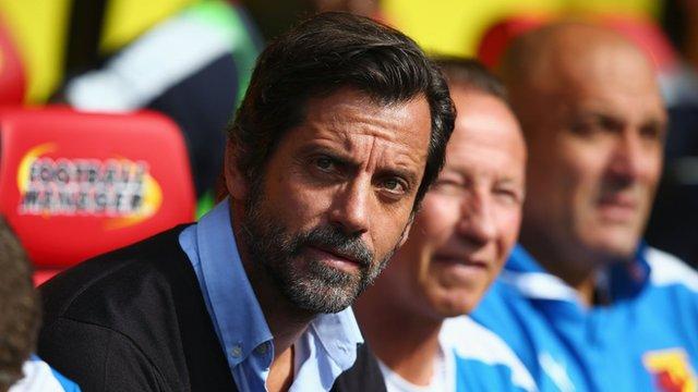 Watford boss Quique Flores
