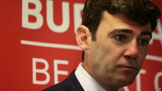 Labour leadership candidate Andy Burnham