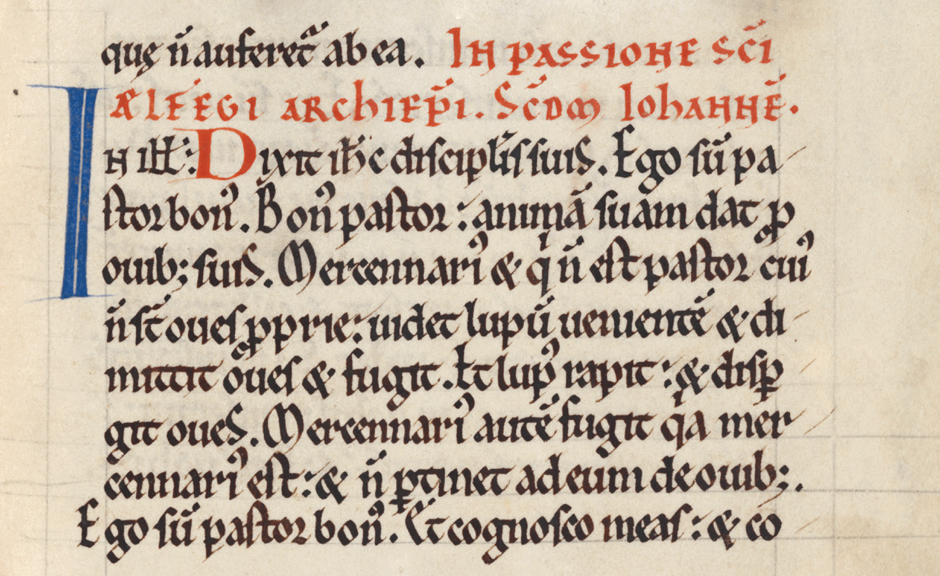 Office for St Alphege in the Becket psalter