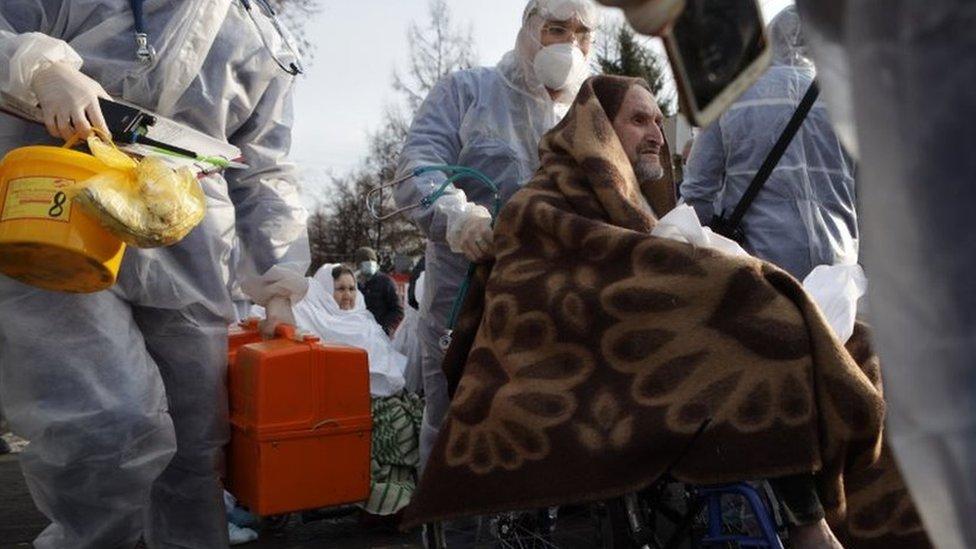 Ковидный госпиталь загорелся в Челябинске из-за утечки кислорода