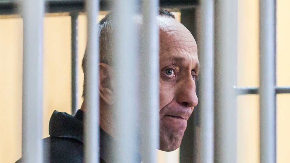 Mihail Popkov na sudu 10. decembra 2018. godine