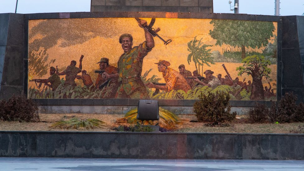 Guerra en Angola.