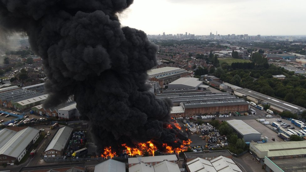 Tyseley fire image
