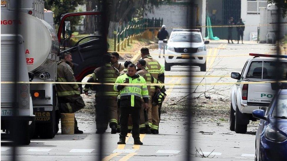 ekplozija u Bogoti