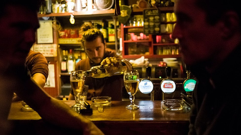 Kafić u Beogradu