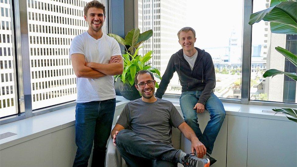 Calvin French-Owen, Ilya Volodarsky y Peter Reinhardt son tres de los fundadores de Segment.