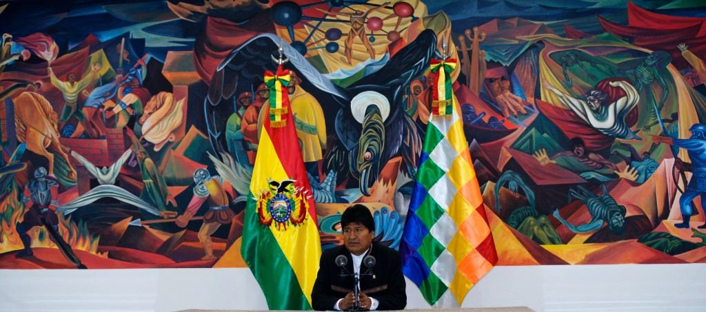 Mr Morales was Bolivia's first indigenous leader