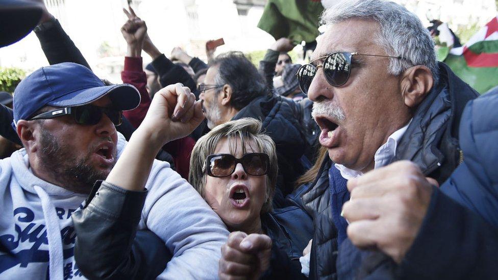 من مسيرة الجزائر 24 فبراير/شباط