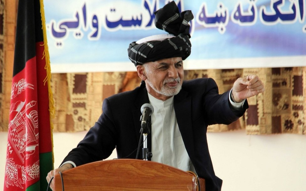 Avganistanski predsednik Ašrad Gani u obraćanju studentima