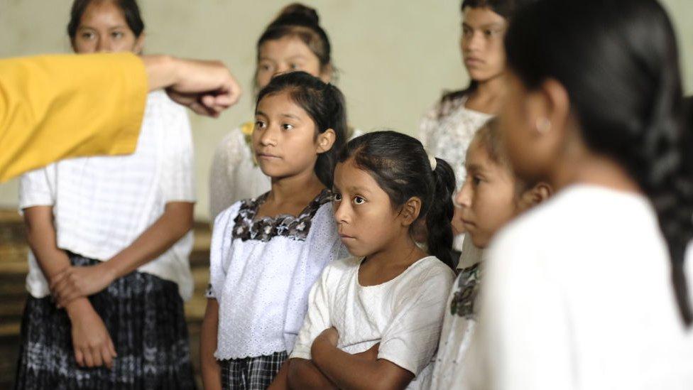 Niñas en Guatemala