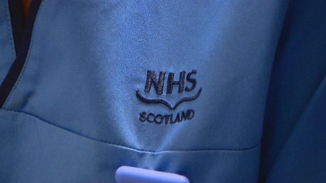 NHS Scotland uniform