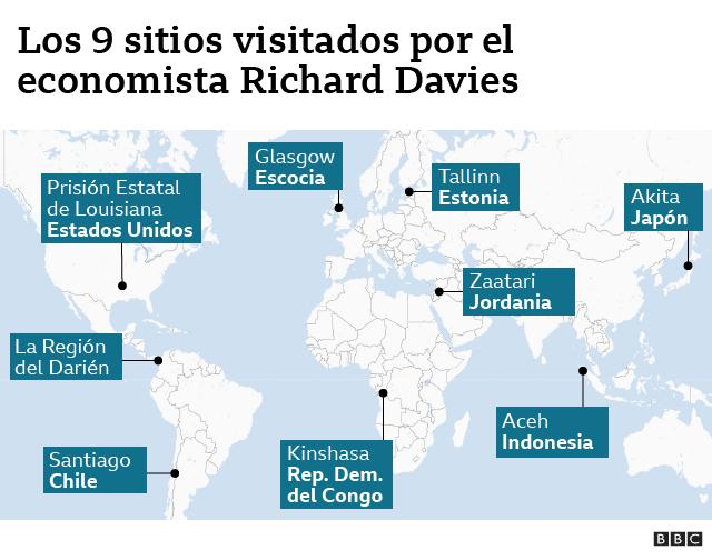 Mapa Davies
