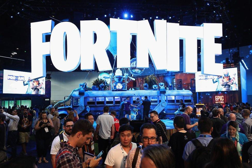 Jugadores en Fortnite