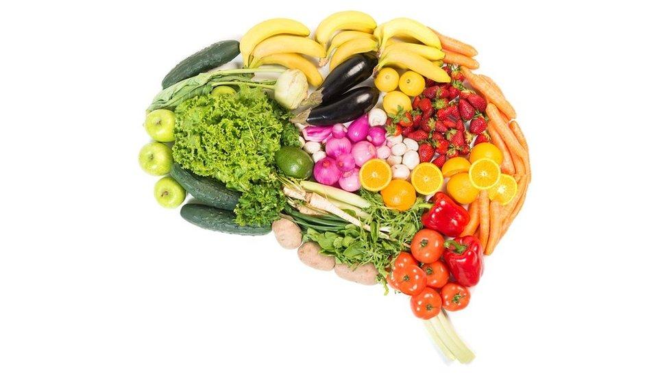 voće i povrće oblik mozga