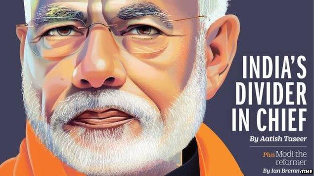 टाइम मैगज़ीन ने PM नरेंद्र मोदी को बताया 'India's Divider In Chief'