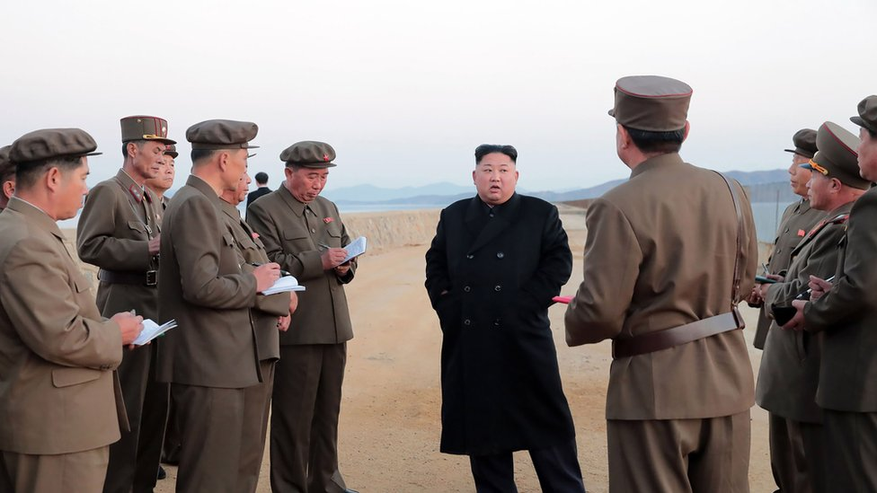 North Korea 'tests new high-tech weapon'