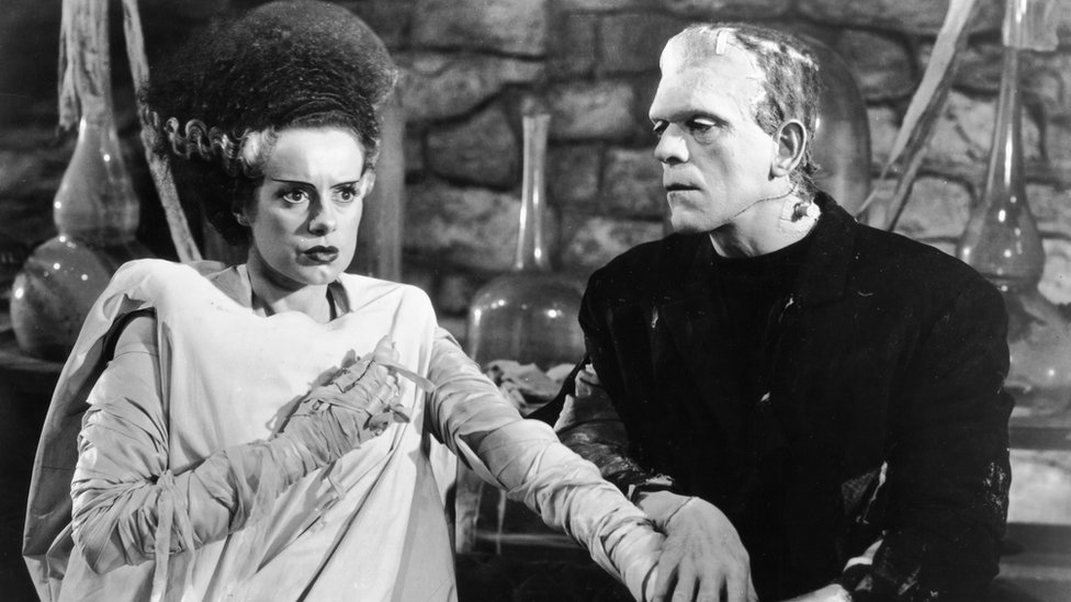 A picture of Bride of Frankenstein