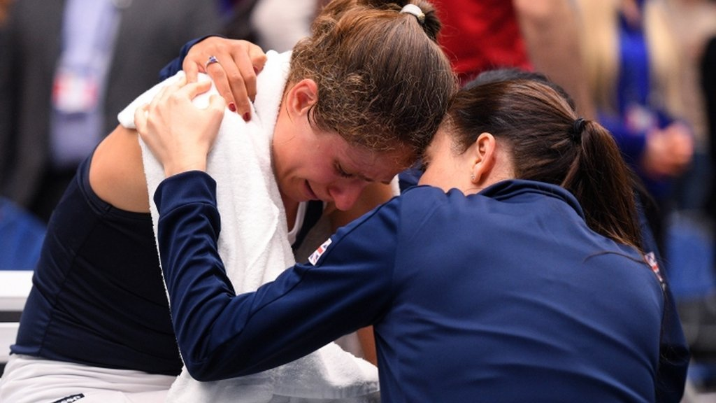 'Light-headed' Konta was given option to retire in Fed Cup win