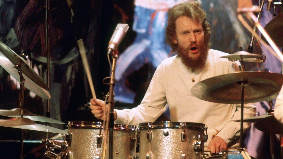 Ginger Baker: Legendary Cream drummer dies aged 80 - BBC News