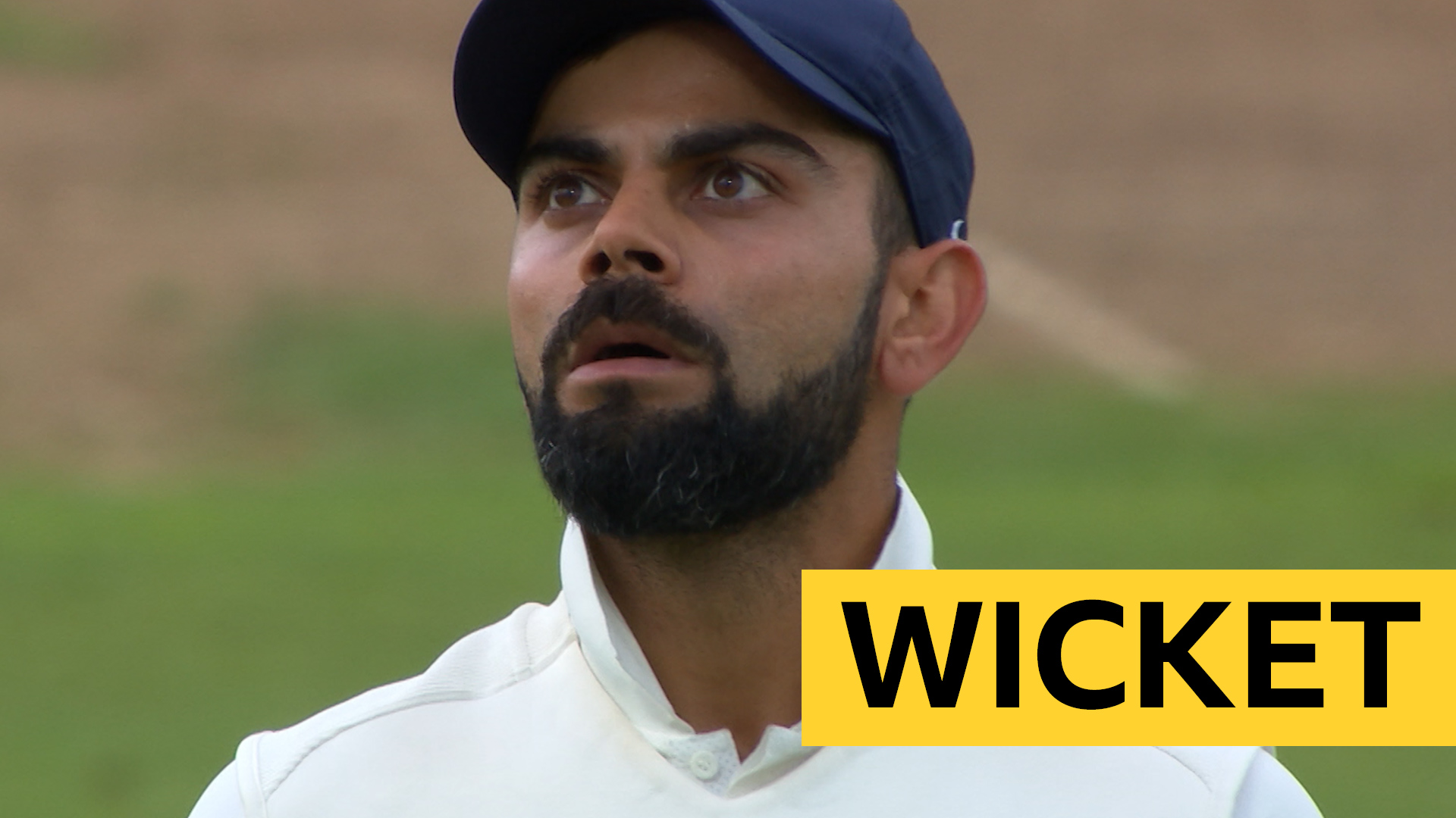 England v India: Virat Kohli dismissed by Adil Rashid on 97