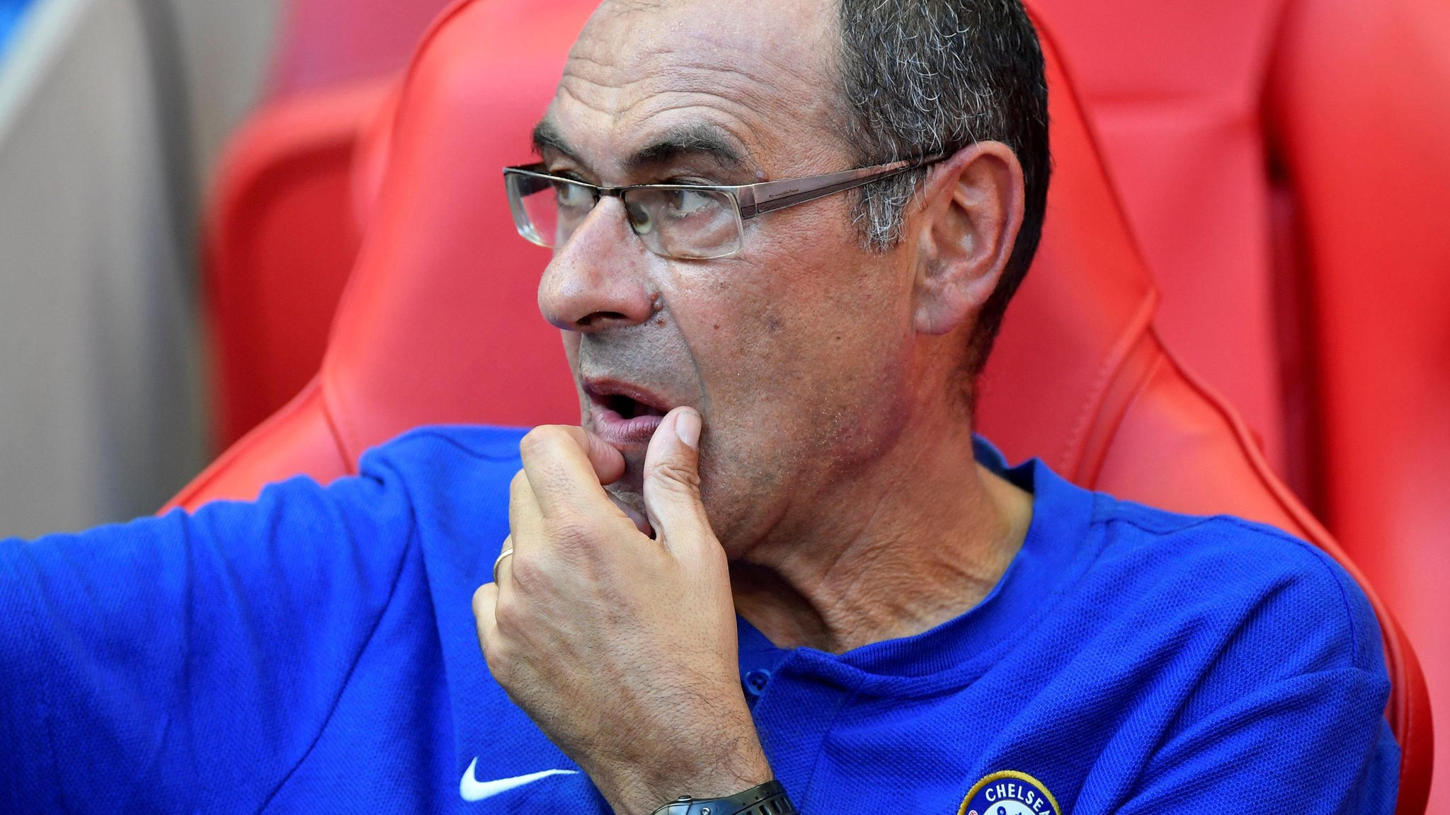 'We're a step behind Liverpool' - Chelsea boss Sarri before sides meet twice this week